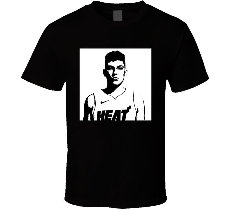 Tyler Herro Miami Heat Silhouette Fan T Shirt