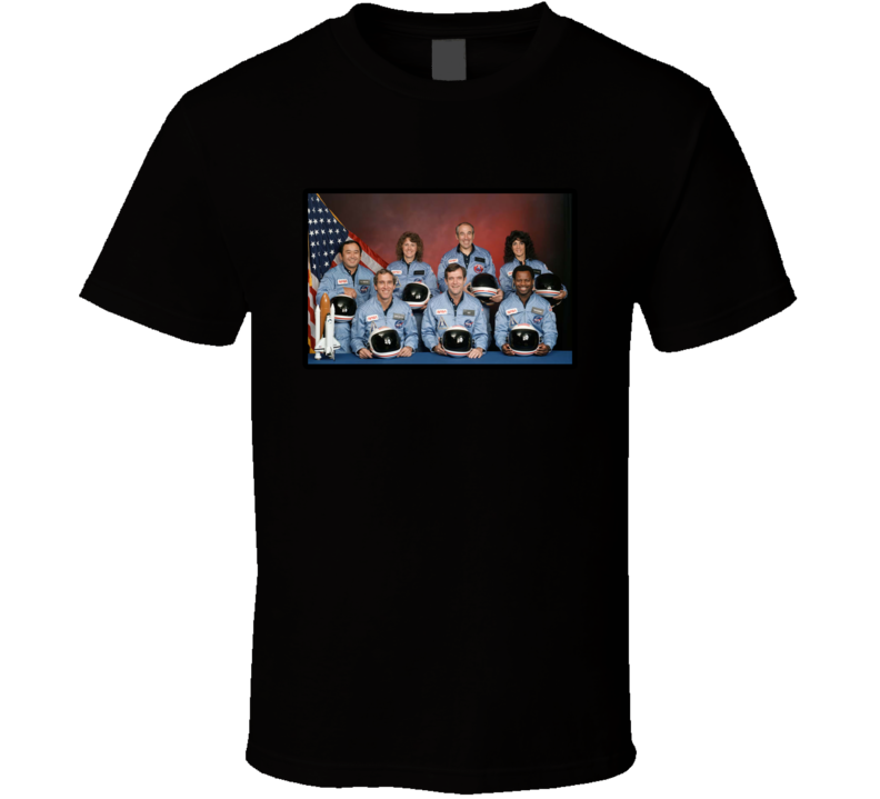 The Challenger Spaceship The Final Challenger T Shirt