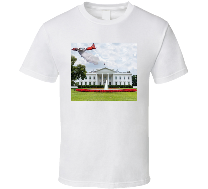 Disinfectant Over The White House Parody T Shirt