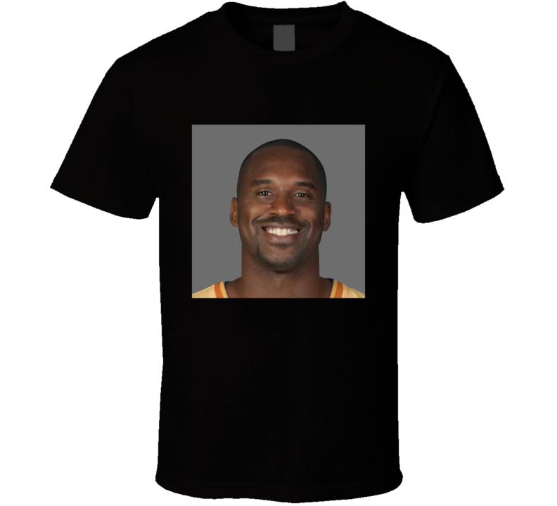 Shaq Kobe Face Merge Combination Fan T Shirt