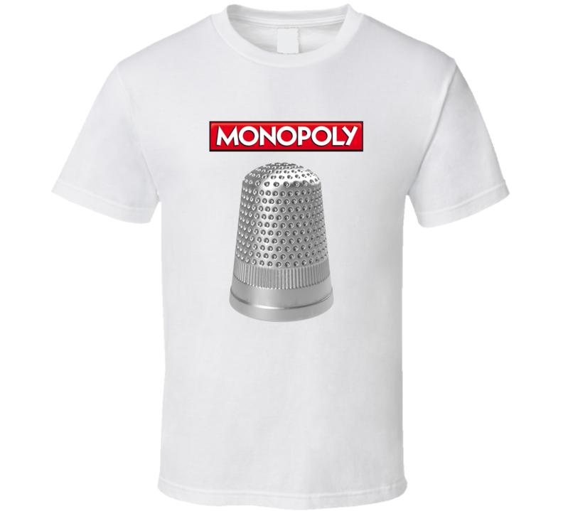 Monopoly Thimble T Shirt
