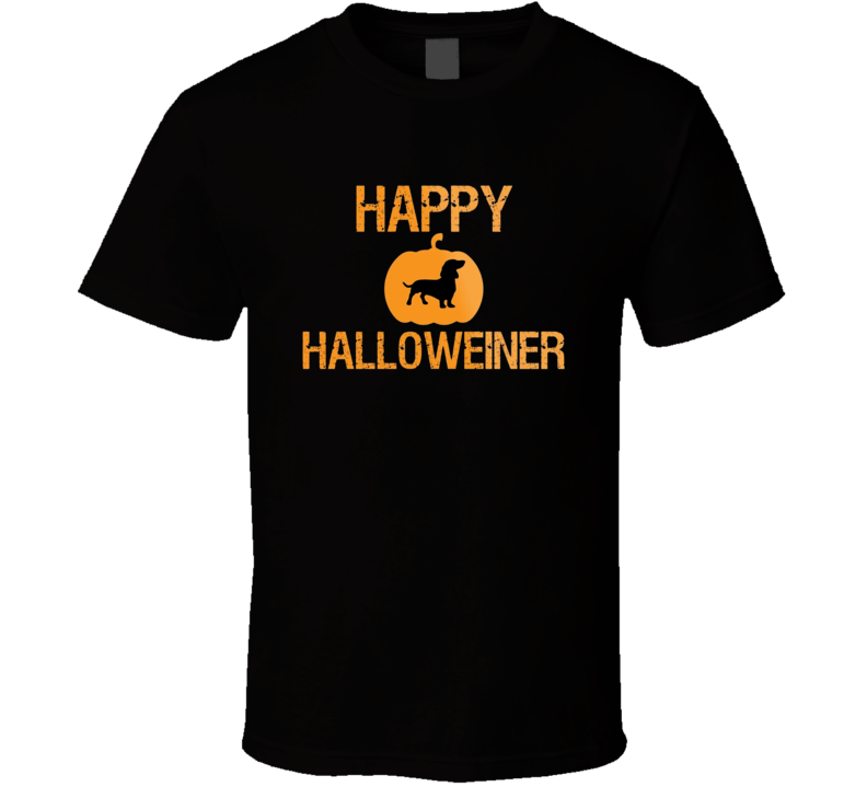 Happy Halloweiner Parody Happy Halloweener T Shirt
