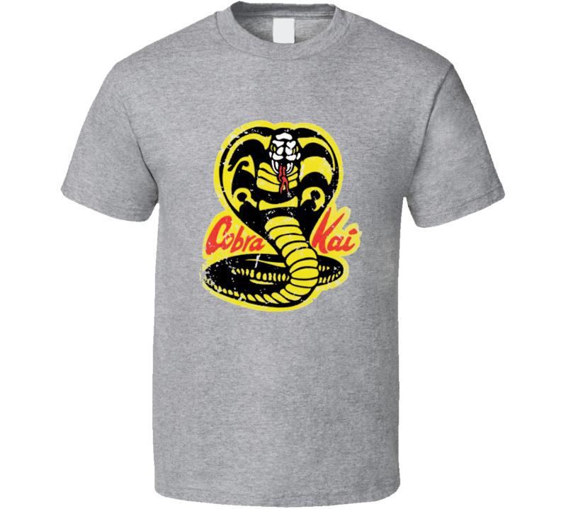 Cobra Kai Logo T Shirt