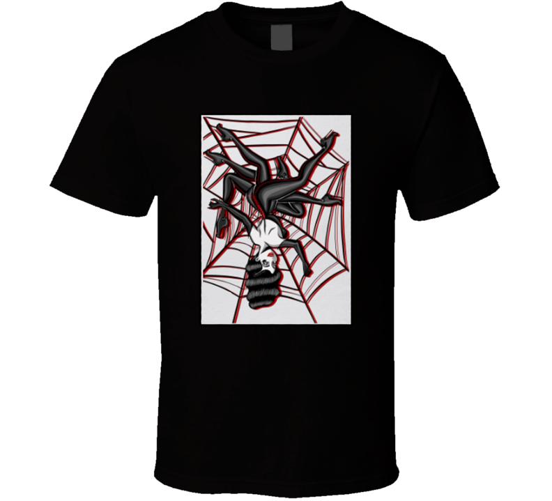 Lady Spider Parody T Shirt