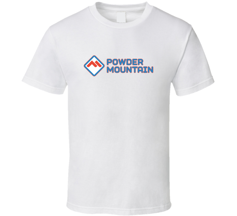 Powder Mountain Ski Resort Fan T Shirt
