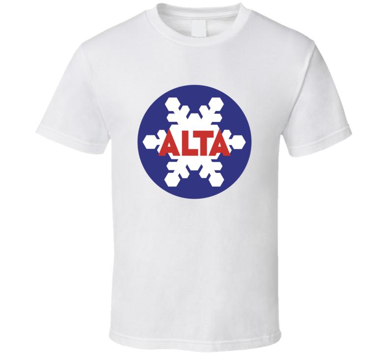 Alta Ski Resort T Shirt