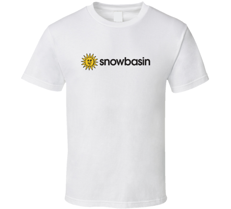 Snowbasin Ski Resort Fan T Shirt