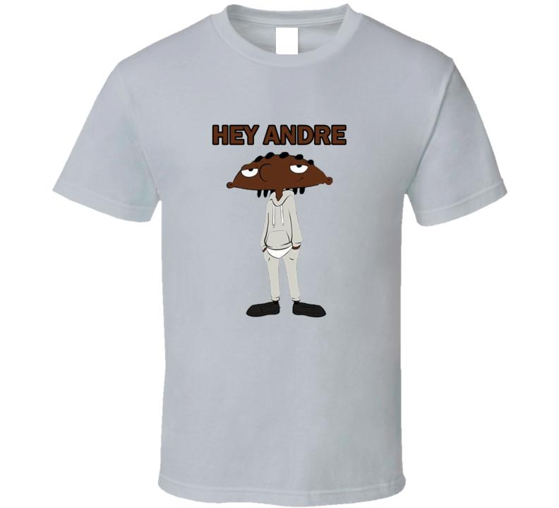 Hey Arnold Black Hey Andre Black Hey Arnold Parody T Shirt
