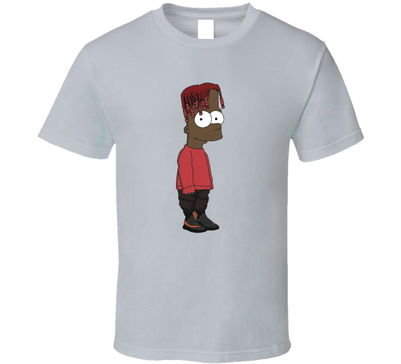 Black Simpsons Black Bart T Shirt
