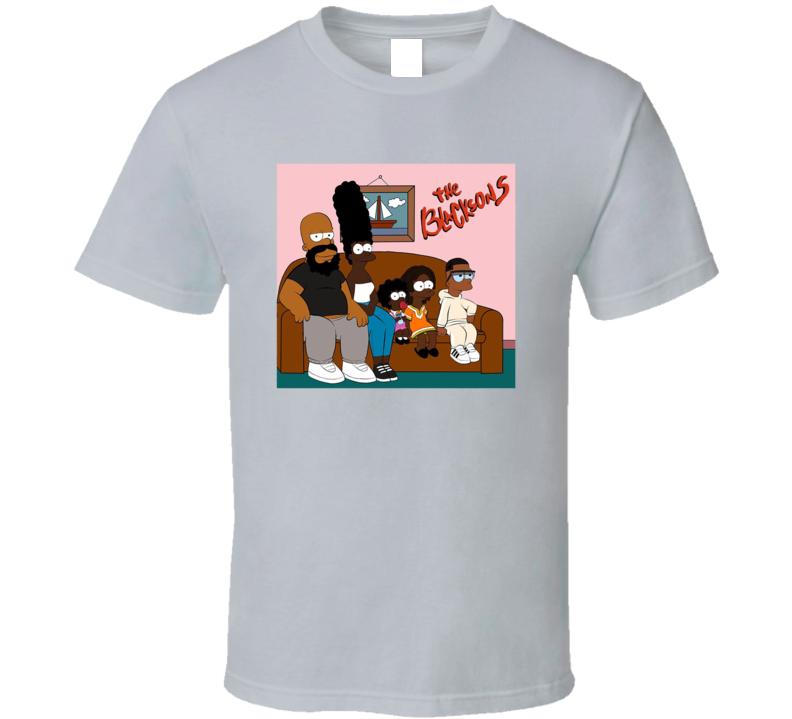 The Blacksons Simpson Black Simpsons Parody T Shirt