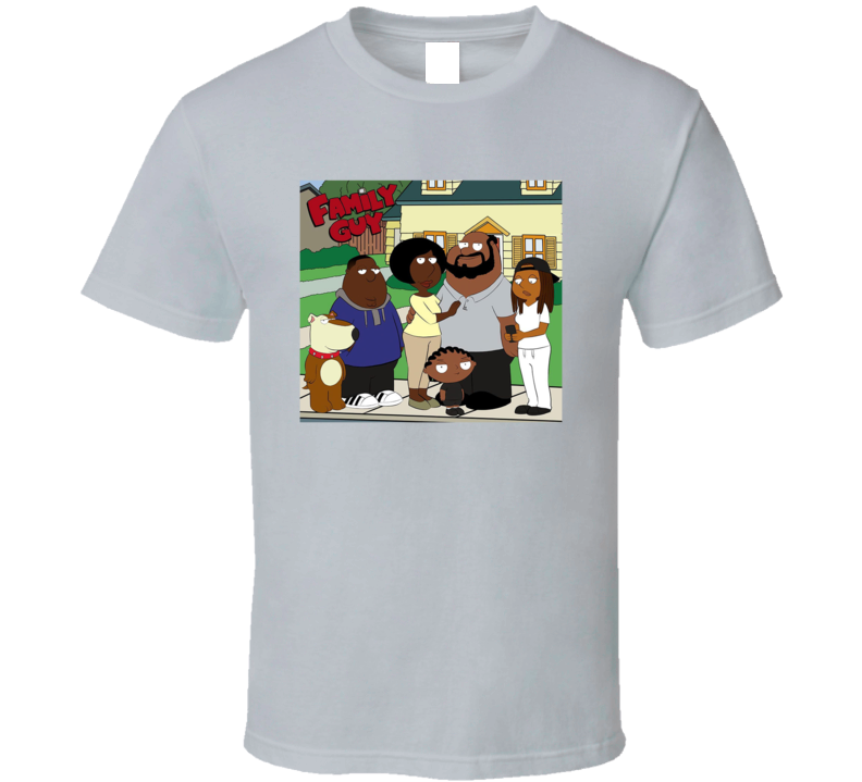 The Black Family Guy Parody Fan T Shirt