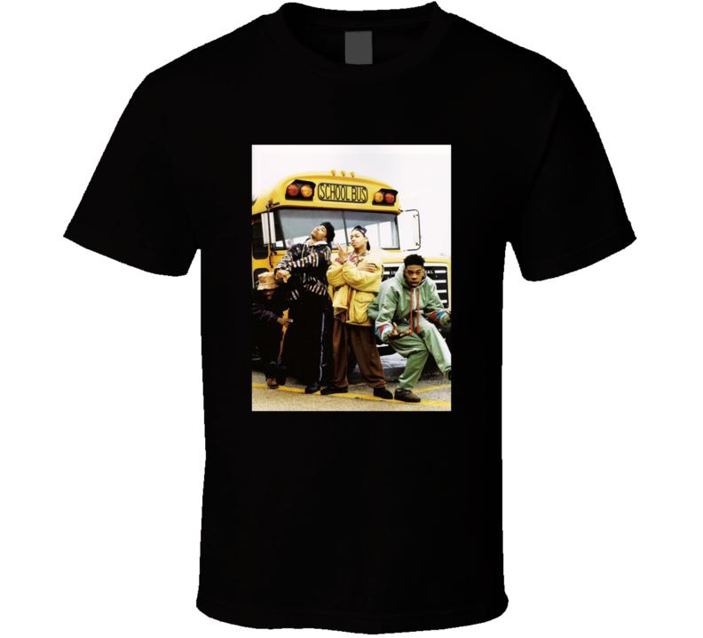 Leaders Of The New School Retro Photo T Shirt