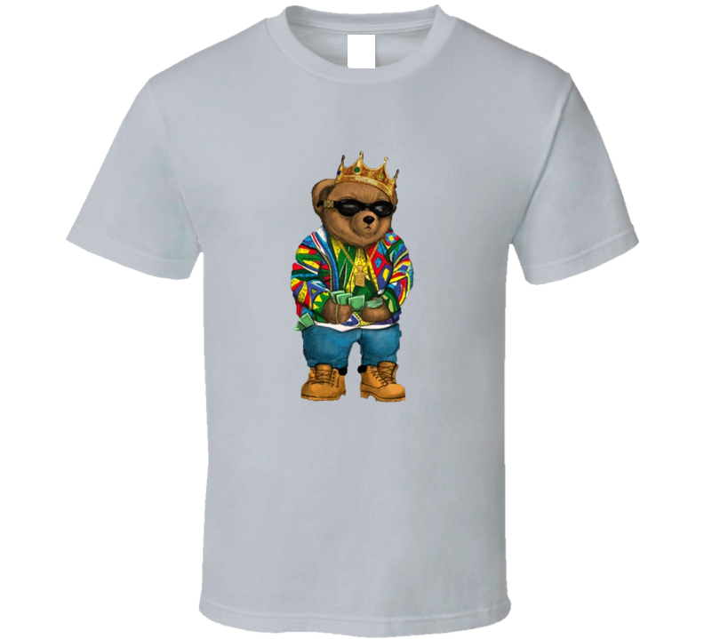 Biggie Teddy Bear Parody T Shirt