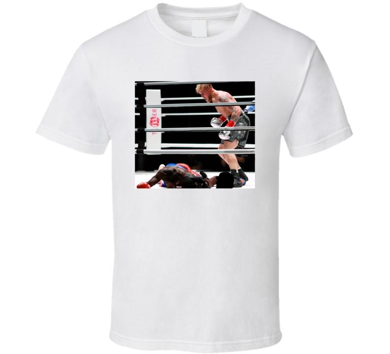 Jake Paul Vs Nate Robinson Knocks Out T Shirt