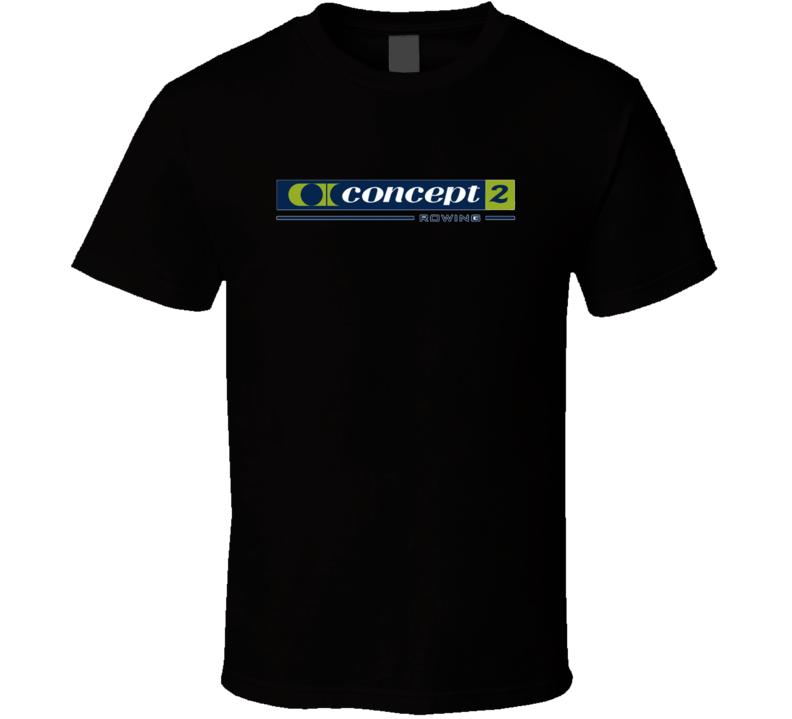 Concept 2 Logo Fan T Shirt