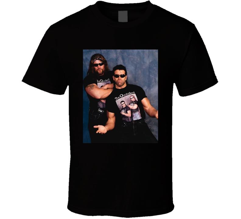 The Outsiders Steve Nash Kevin Nash Wrestling T Shirt