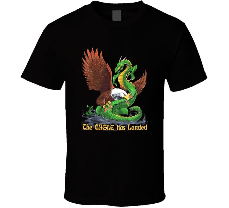 The Eagle Has Landed Fan T Shirt