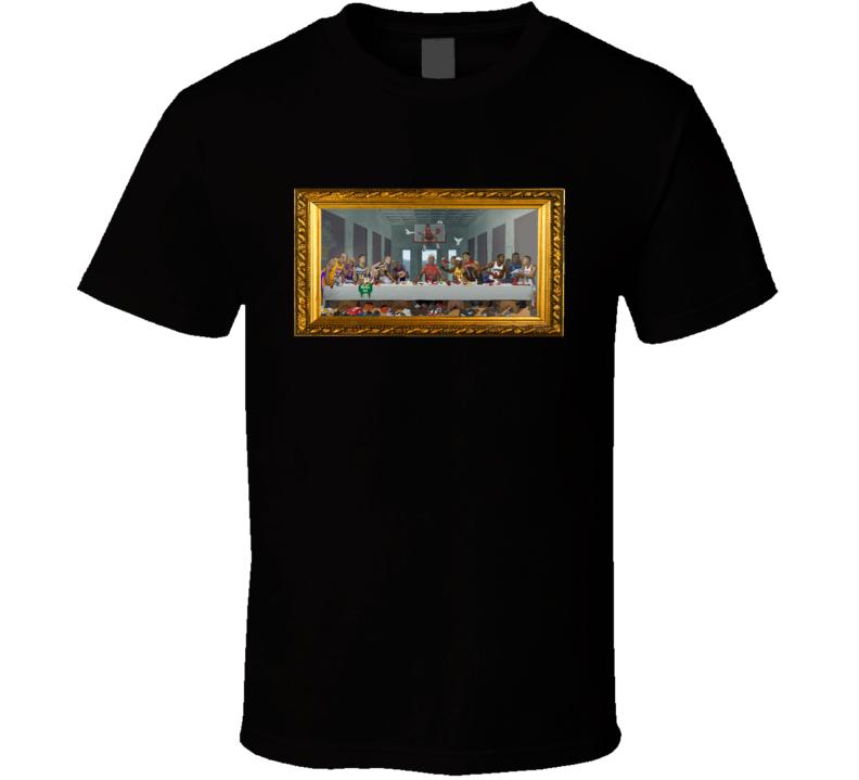 Basketball Goat Last Supper Fan T Shirt
