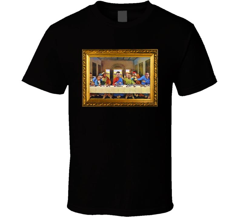 Tom Brady Last Supper Parody T Shirt