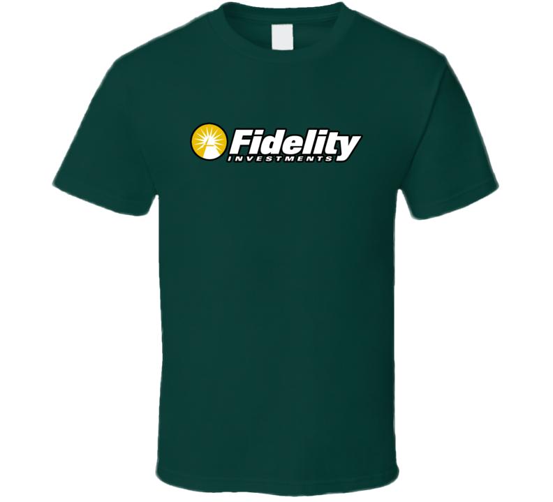 Fidelity Investments Logo Fan T Shirts T Shirt