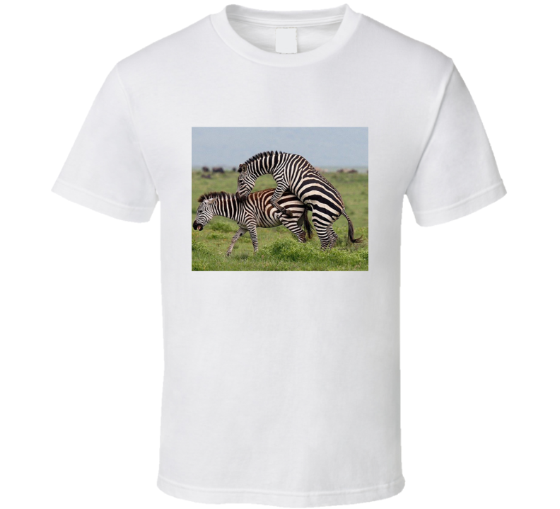 Zebra Mating Season T Shirt