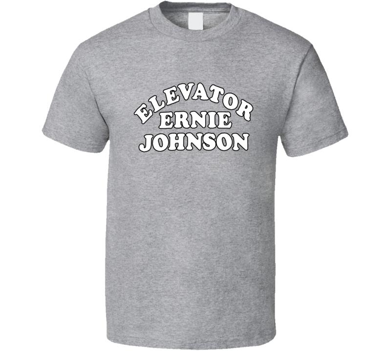 Elevator Ernie Johnson Basketball Parody T Shirt