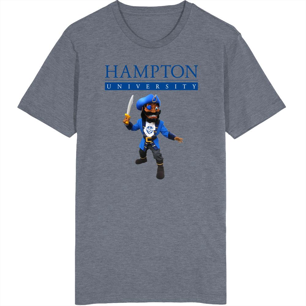 Hbcu Hampton University Football Mascot Pete Pirate T Shirt