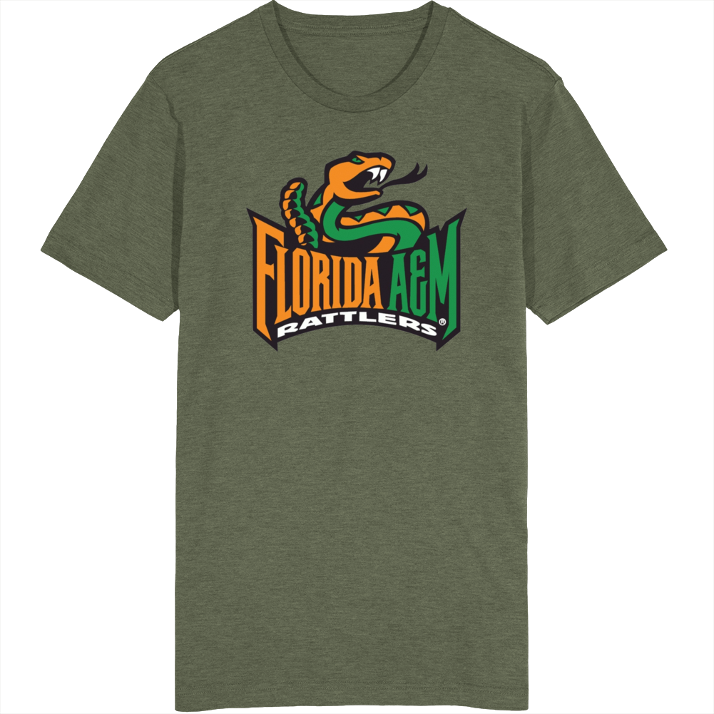 Florida A&m Rattlers Mascot T Shirt