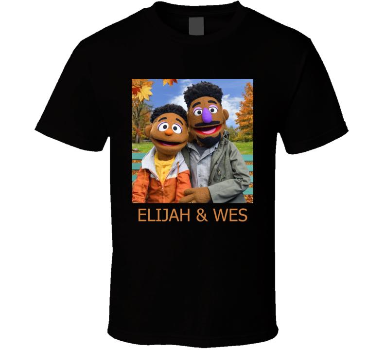 Elijah And Wes Sesame Street T Shirt