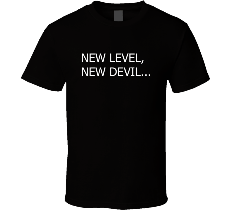 New Level New Devil T Shirt