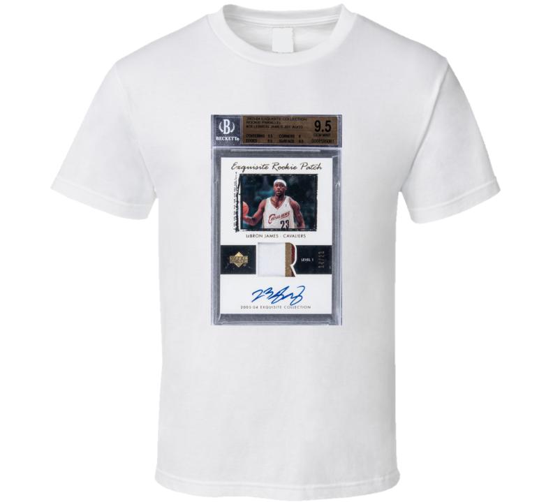 Lebron Rookie Card T Shirt