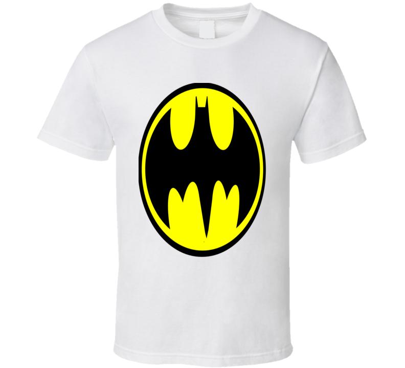Batman Classic logo Superhero T- Shirt