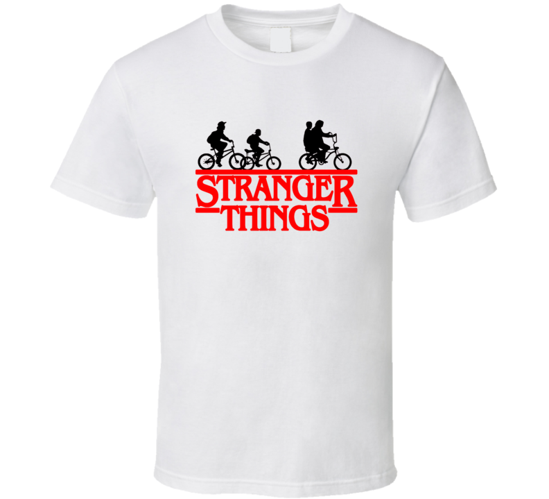 Stranger Things Bike Netflix Tv Show T Shirt