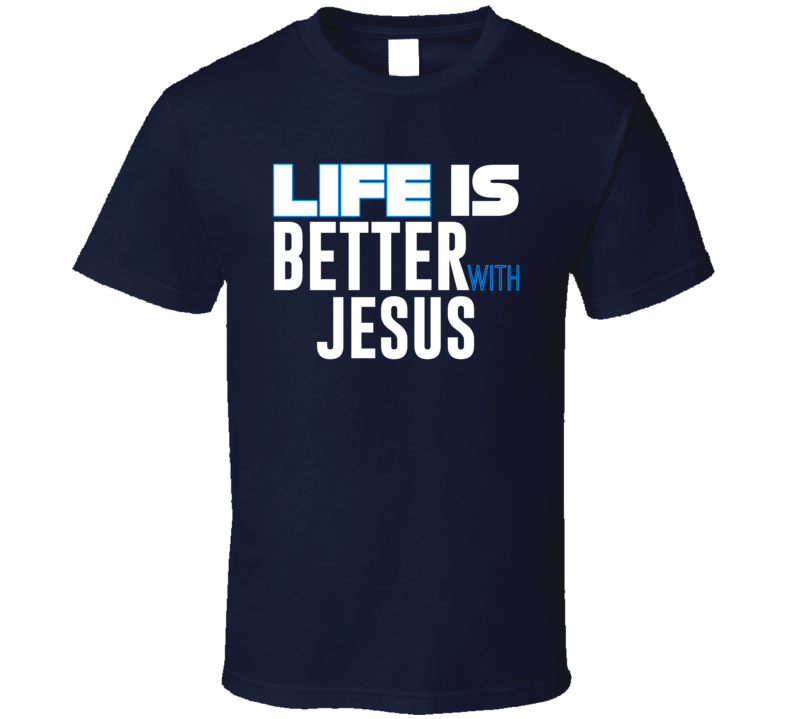 With Jesus T-shirt