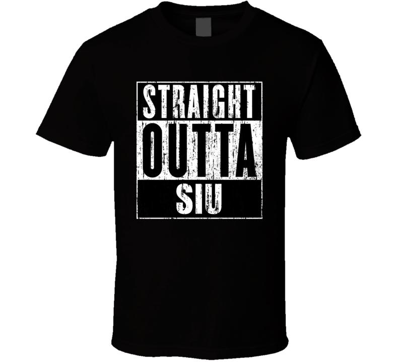 Straight Outta SIU Unions Cool Movie Parody T Shirt
