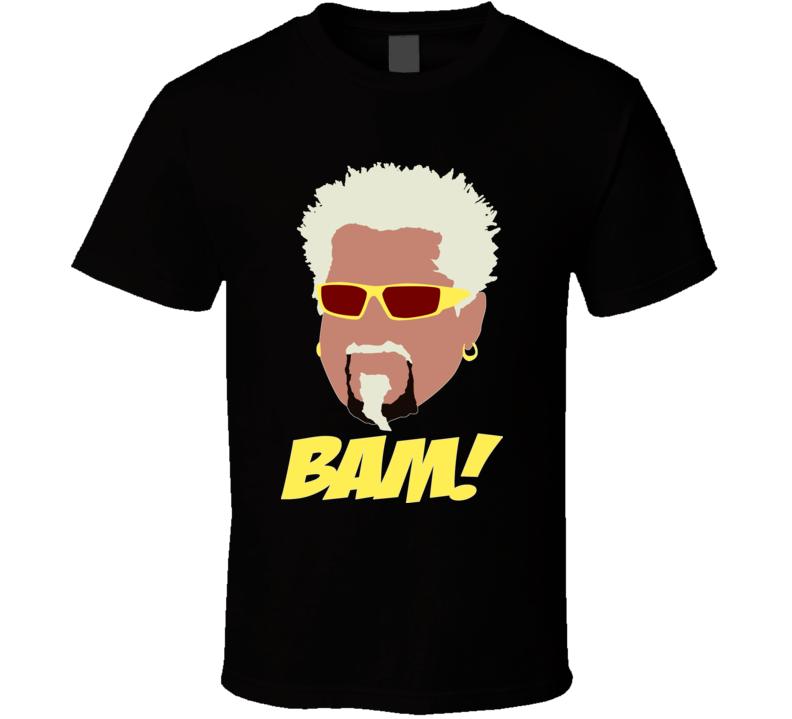 Guy Fieri BAM! Reality Cooking TV T Shirt