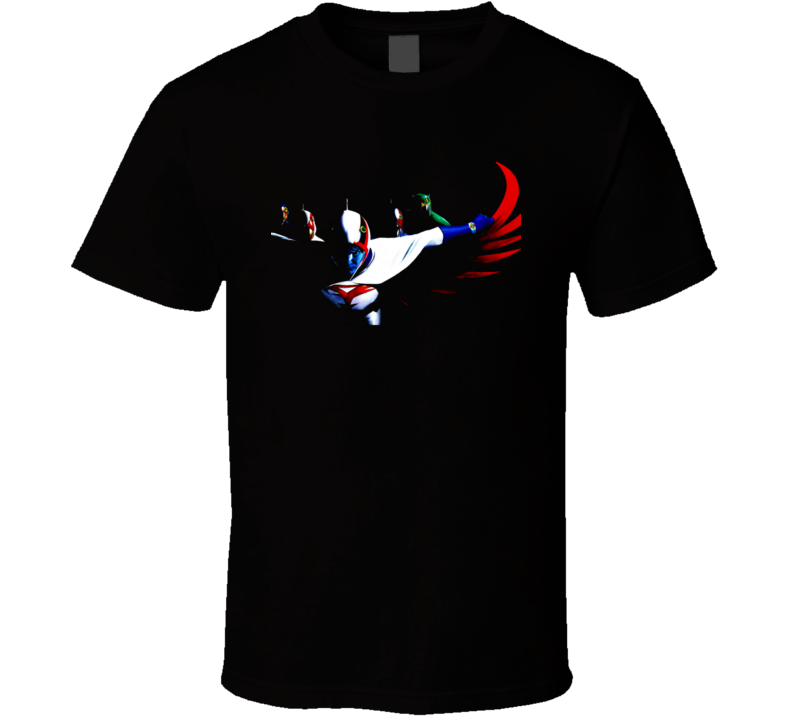 Gatchaman Anime TV Retro Classic T Shirt