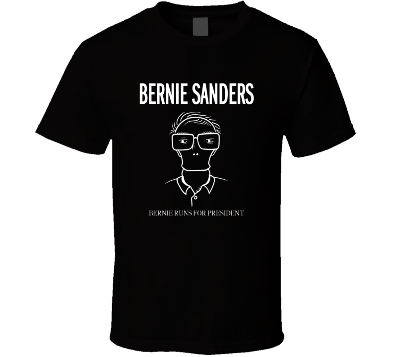 Descendents Bernie Sanders Parody Punk Rock Political T Shirt