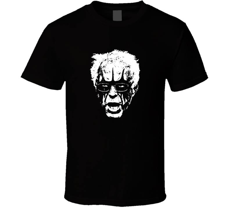 Bernie Sanders Black Metal Punk Rock Political T Shirt