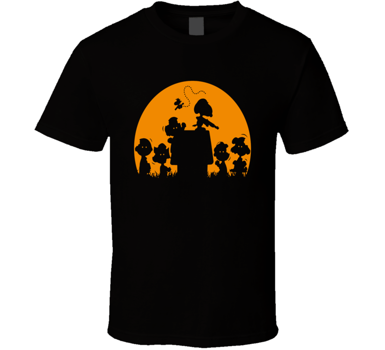Snoopy The Walking Dead Parody Zombie Fun Fan T Shirt