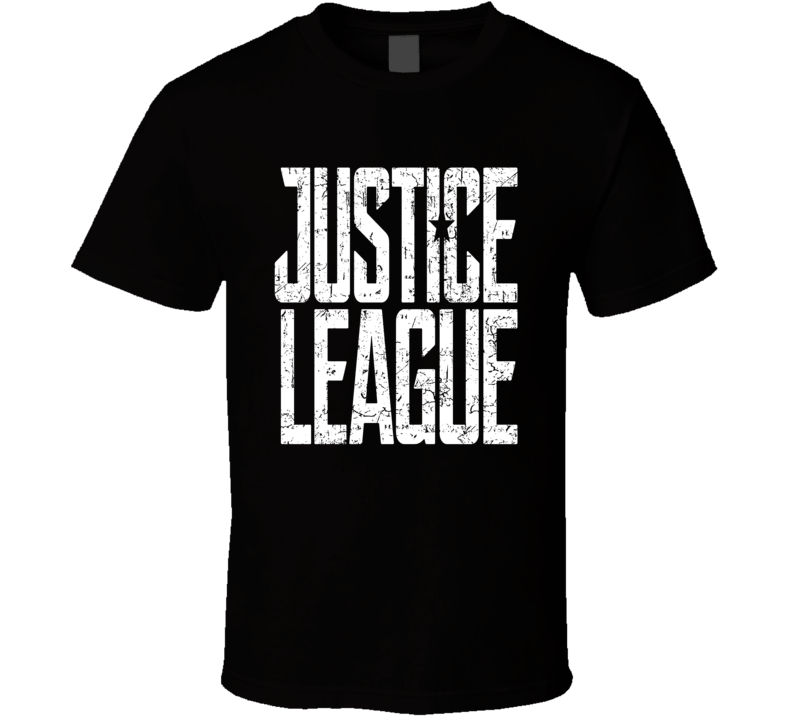 Justice League Movie Logo Comic T Shirt