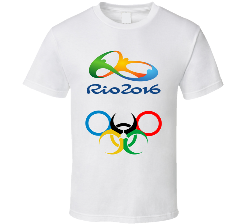 Rio 2016 Olympic Biochemical Rings Fun T Shirt