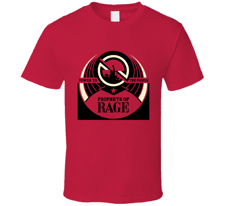 Prophets of Rage Against The Machine Cool Fan Red T Shirt