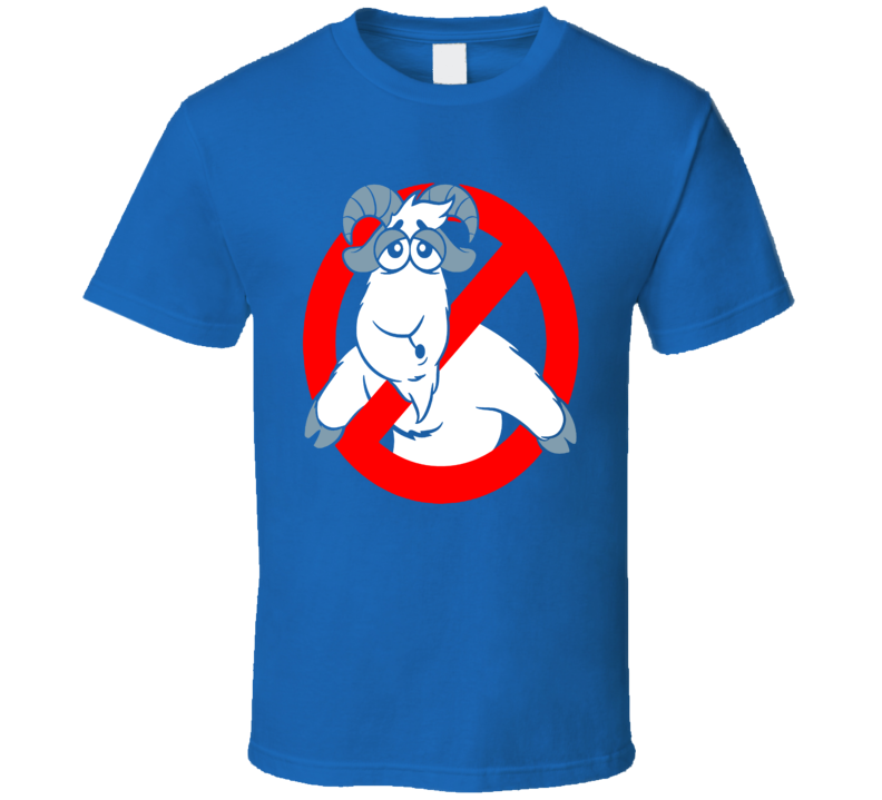 "Chicago Baseball ""We Ain't Afraid of No GOATS"" Cubs Fan T Shirt"