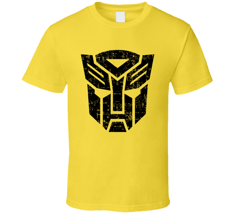 Transformers Bumble Bee Colors Autobots Fun Fan T Shirt