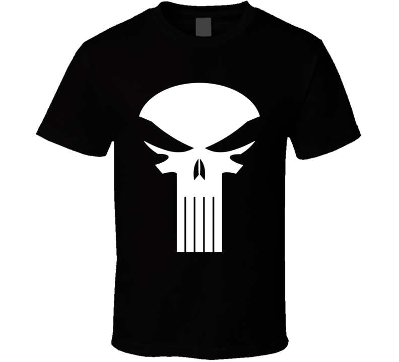 Punisher Dirty Laundry Fan Site Logo T Shirt