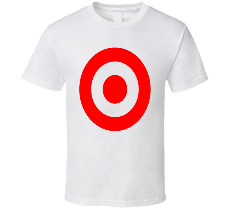 Target Brand Logo Nascar MotorSports Fun Fan White T Shirt