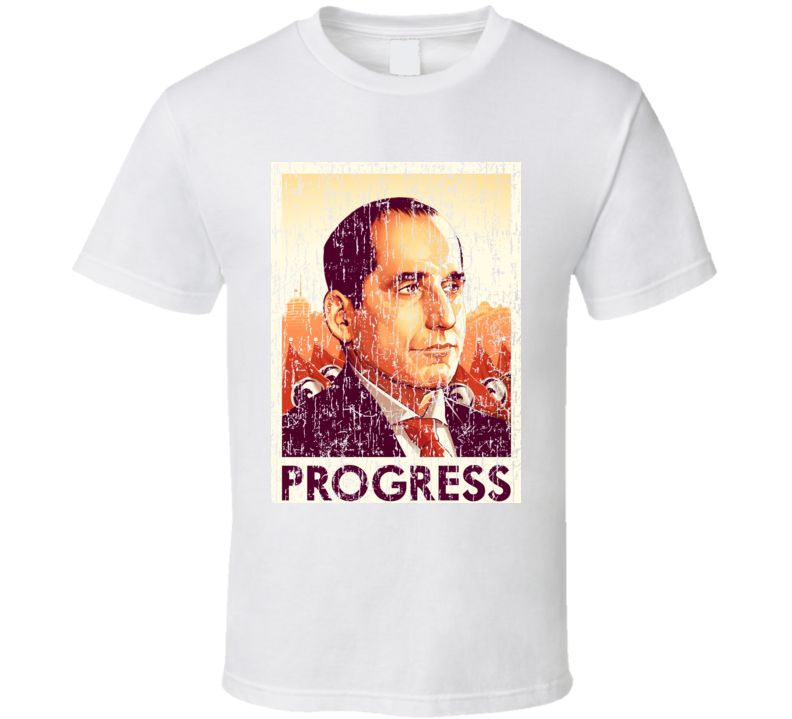 The Colony Proxy Alan Snyder Poster Transitional Authority Syfy TV Show Distressed Fun T Shirt