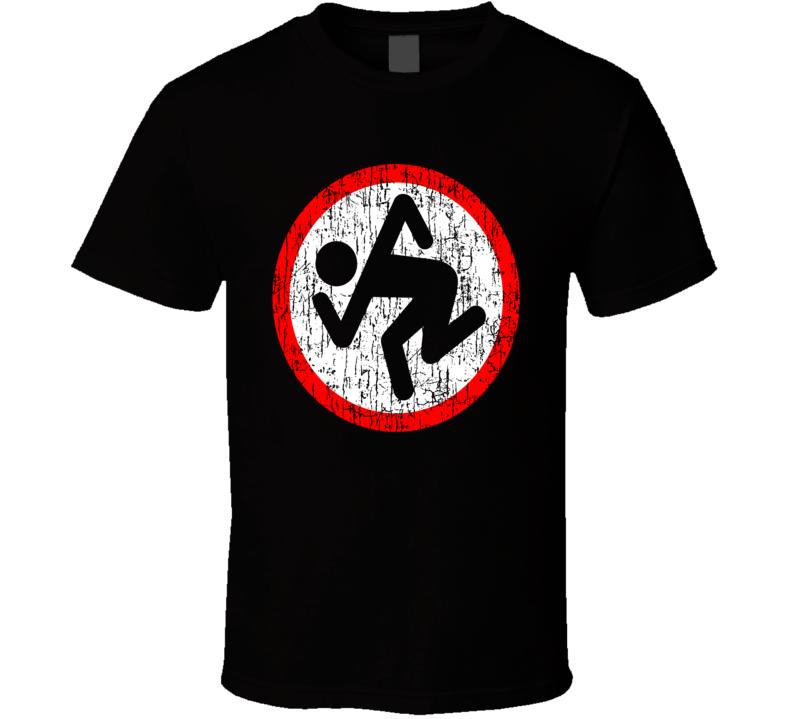 DRI Dirty Rotten Imbeciles Thrash Metal Hardcore Fun Fan Distressed Black T Shirt