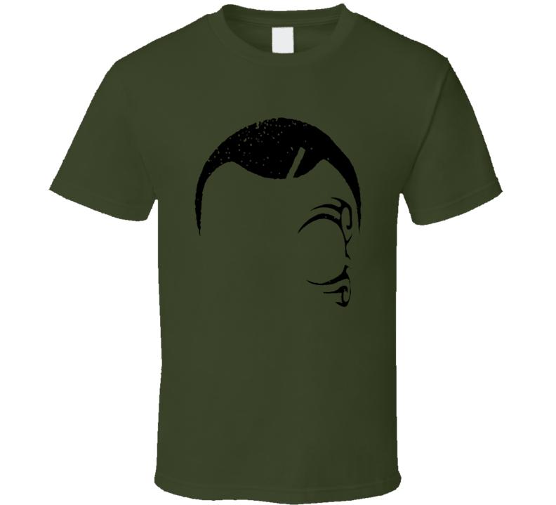 Mike Tyson World Heavyweight Champion Silhouette Fan T Shirt